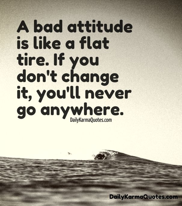 17 Best Bad Attitude Quotes on Pinterest  Positive attitude quotes, How to s...