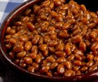 Vegetarian baked beans in the slow cooker.  Basic recipe - zest it up!  About.com