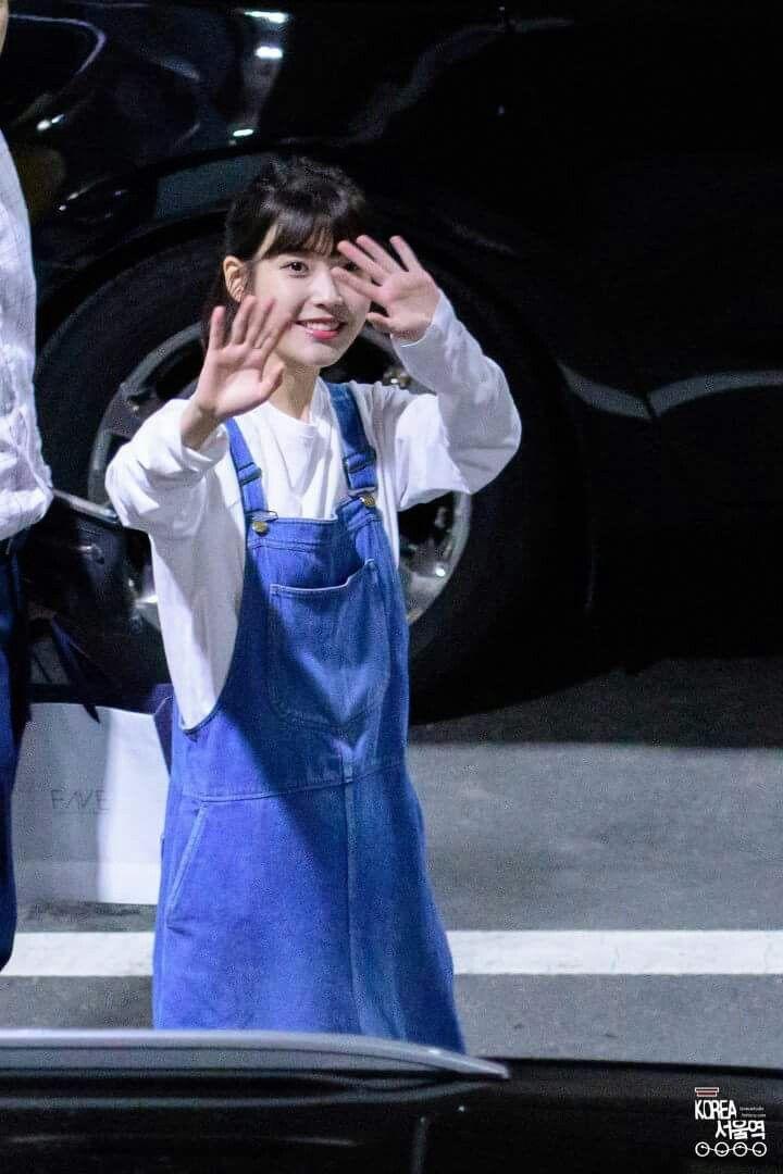 IU 170610 guest at  G-Dragon Concert