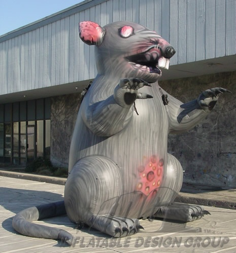 Inflatable Union Rat
