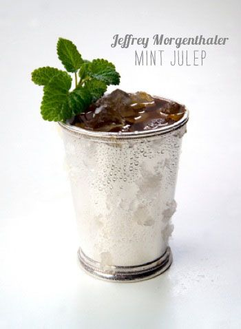 What about making a Mint Julep with bourbon infused with Organic Mint Melange by Mighty Leaf Tea?