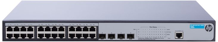 HP 1920-24G-PoE+ Switch 24 Ports L3 Managed (JG925A#ABA)