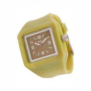 Unisex fashion ρολόι OYYO της συλλογής Juicy Quad από σιλικόνη και πλαστικό. Εγγύηση 2 ετών της επίσημης αντιπροσωπείας. ST-JC-2034 #Oyyo #τετραγωνο #λαδι #σιλικονη #ρολοι