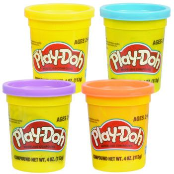 Let kids expand their imagination and practice artistic expression! Play-Doh® is non-toxic and moldable into almost any shape! Great for lesson plans, art projects, daycare centers, and playtime. 4-oz