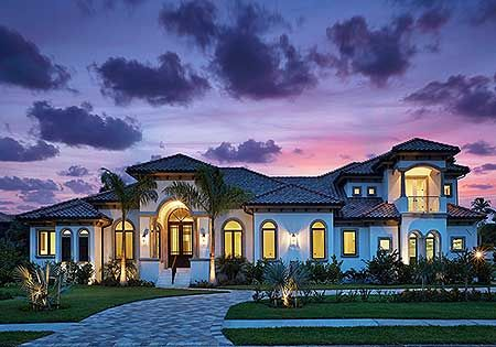 5 bed Luxury House Plan 86000BW. Where do YOU want to build?