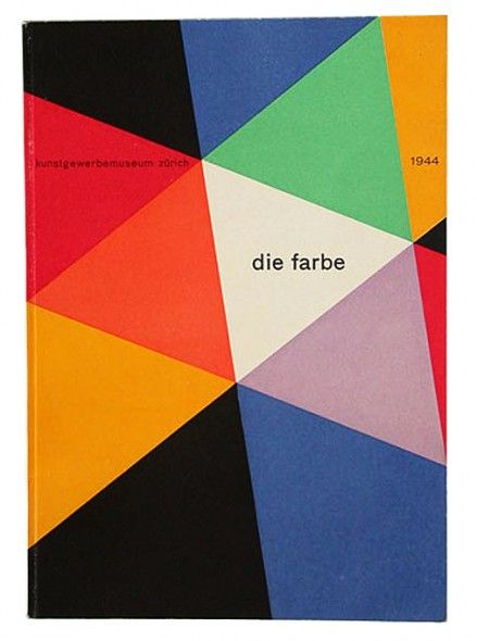 Bauhaus color theory: Johannes Itten, Die Farbe (The Colors), 1944