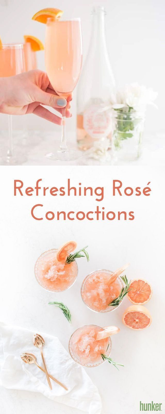 We Will Happily Rosé All Day With These Refreshing Concoctions