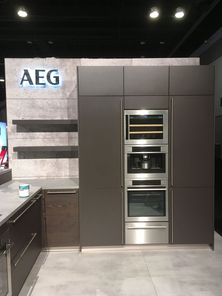AEG display at IDS Vancouver 2017! #IDSVancouver