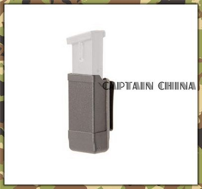 CQC Polymer Holster magazine pouch black gun holster magazine pouch for caliber single column mags from 9mm to .45 caliber