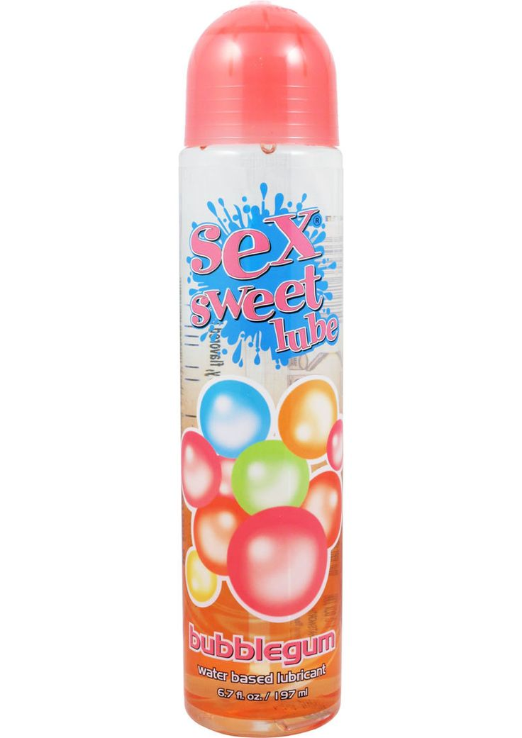 Buy Sex Sweet Lube Flavored Water Based Lubricant Bubble Gum 6.7 Ounce online cheap. SALE! $10.99