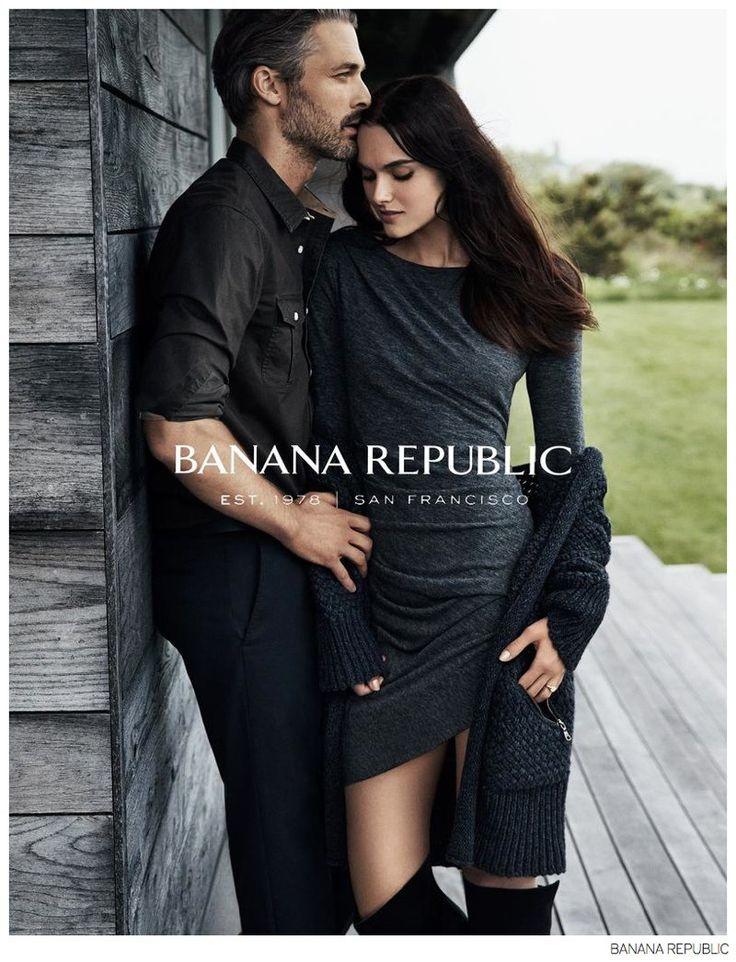 Ben Hill Joins Girlfriend Zuzana for Banana Republic Fall 2014 Campaign image Banana Republic Ben Hill 001