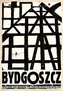 Bydgoszcz, plakat z serii Polska, Ryszard Kaja