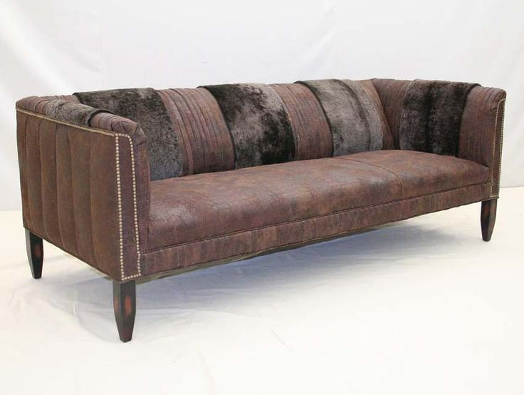 Old Hickory Tannery Dirty Gator Rustic Sofa Western Sofas And Loveseats Embossed On