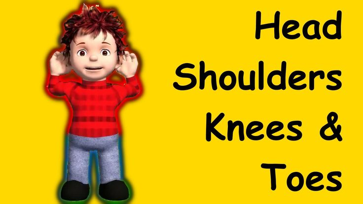 Head, shoulders, knees and toes!