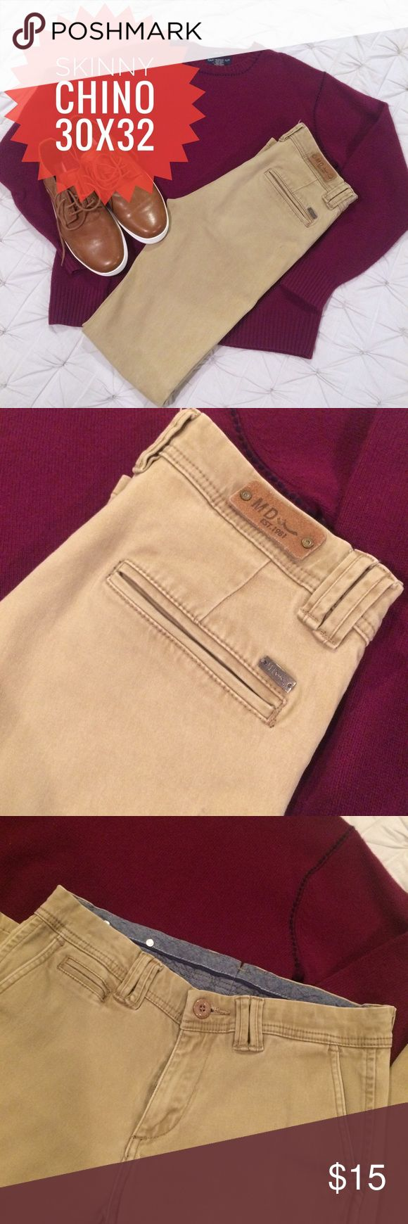 Men's skinny Chinos in size 30x32 Men's skinny Chinos in size 30x32 Pants Chinos & Khakis