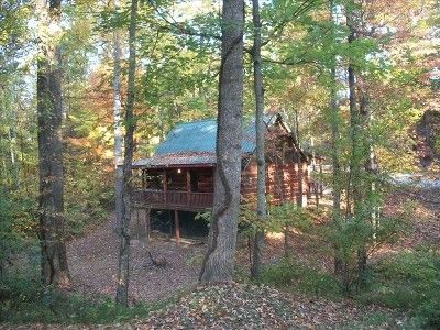 $59   Cobbly Nob Cabin Rental: Neighbors. 2 Bed Cabin Sleeps Up To 6