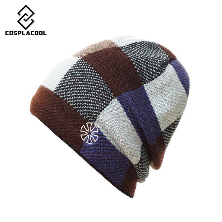 $5.64 (Buy here: https://alitems.com/g/1e8d114494ebda23ff8b16525dc3e8/?i=5&ulp=https%3A%2F%2Fwww.aliexpress.com%2Fitem%2FCOSPLACOOL-2016-winter-gorros-Snowboard-Winter-Ski-skating-hats-men-and-women-knitting-wool-hat%2F32702037123.html ) [COSPLACOOL] 2016 winter gorros Snowboard Winter Ski skating hats men and women knitting wool hat ski cap for just $5.64