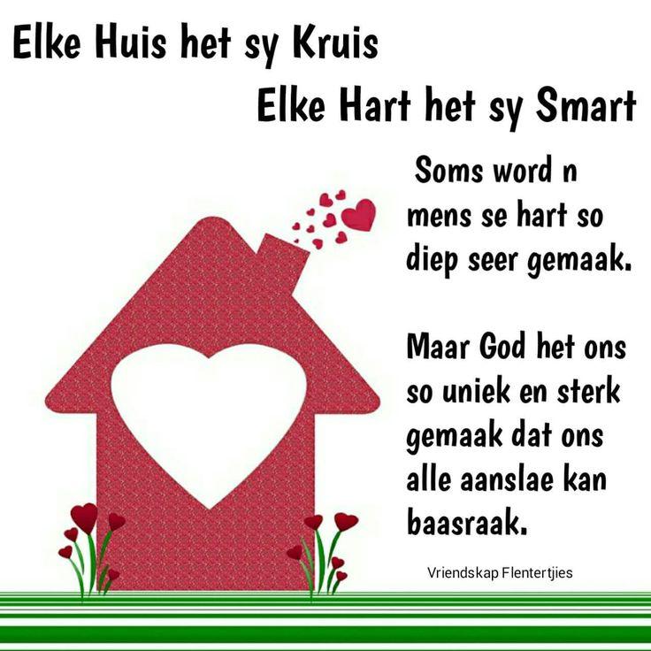 Elke huis het sy kruis