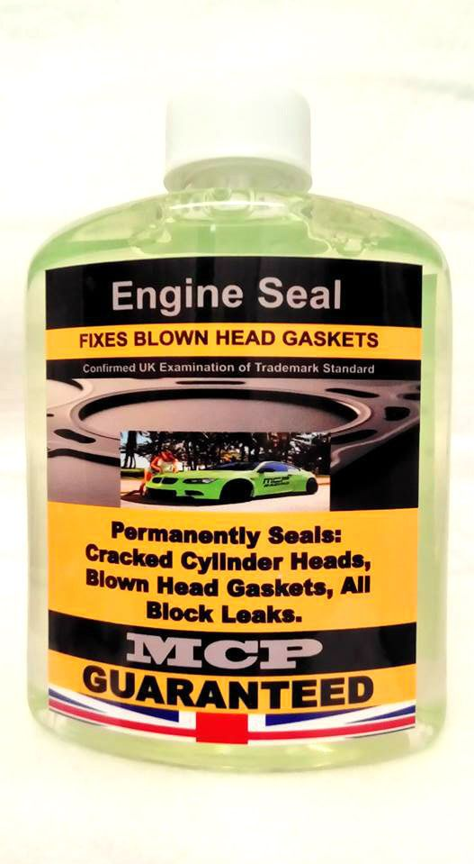 STEEL SEAL HEAD GASKETS REPAIR, PRO-ENGINE SEAL, PREMIUM QUALITY INSTANT SEALANT #MCP