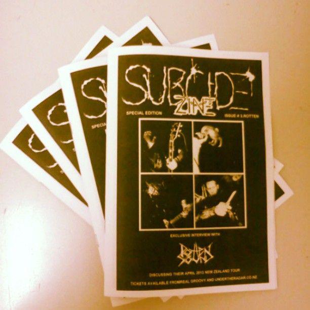 Subcide Zine #3.Rotten