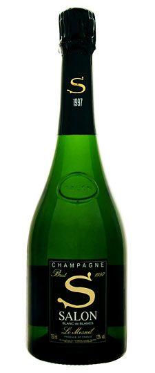 1997 Salon Brut Blanc de Blancs Champagne . This goes on the wish list.