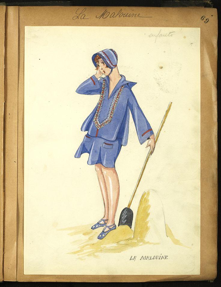 LA MALOUINE 1926 © Patrimoine Lanvin. #Lanvin125