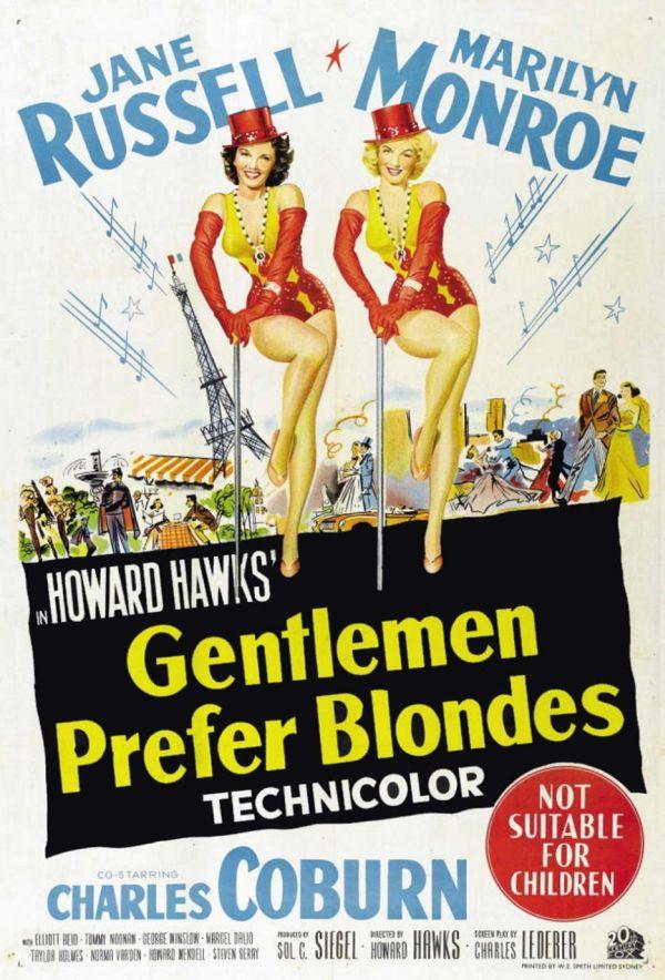 Gli uomini preferiscono le bionde (1953).