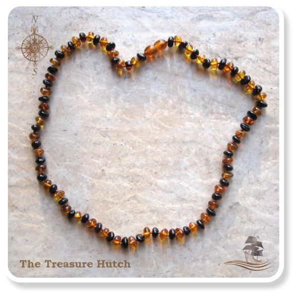 Baltic Amber - Cherry/Cognac.  Available in 50cm.