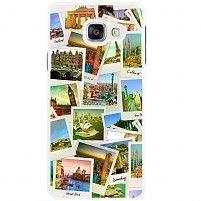 Samsung Galaxy A3 2016 hoesje - Polaroid cities