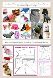 Free dog dress-pants-PJs, costumes, caps (headwear), shirt-coat-sweater pattern & instructions
