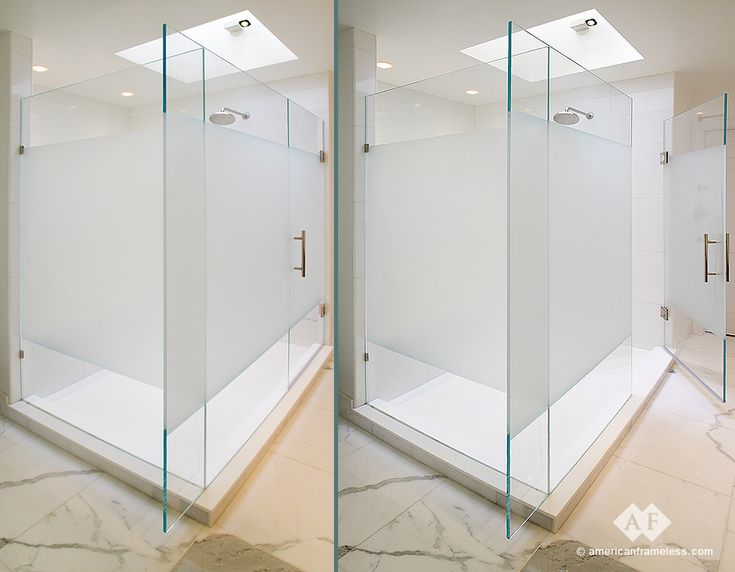 15 best shower doors images on Pinterest | Frosted shower doors ...