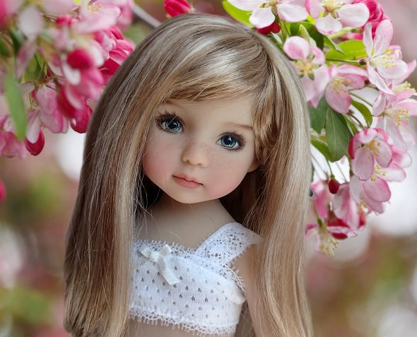 Добрый День! Сегодня хочу показать коллекционных кукол Dianna Effner . Милые, нежные, да просто невероятно красивые лица, которые принадлежат талантливым