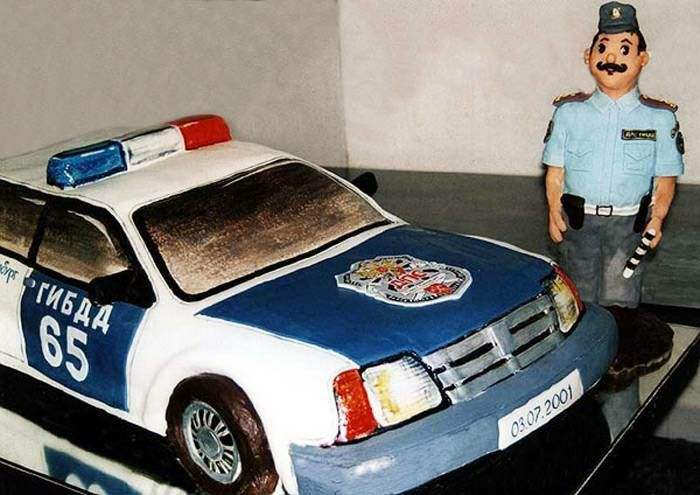 """Торт """"Полицейский""""."""