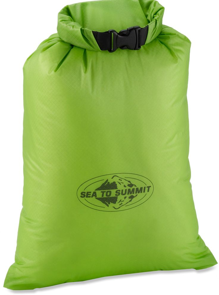 """Sea to Summit Ultra-Sil Dry Sack- this is a great little stuff sack.  I have one as my """"med"""" sack on personal trips and another as my stuff sack for my sleeping bag."""