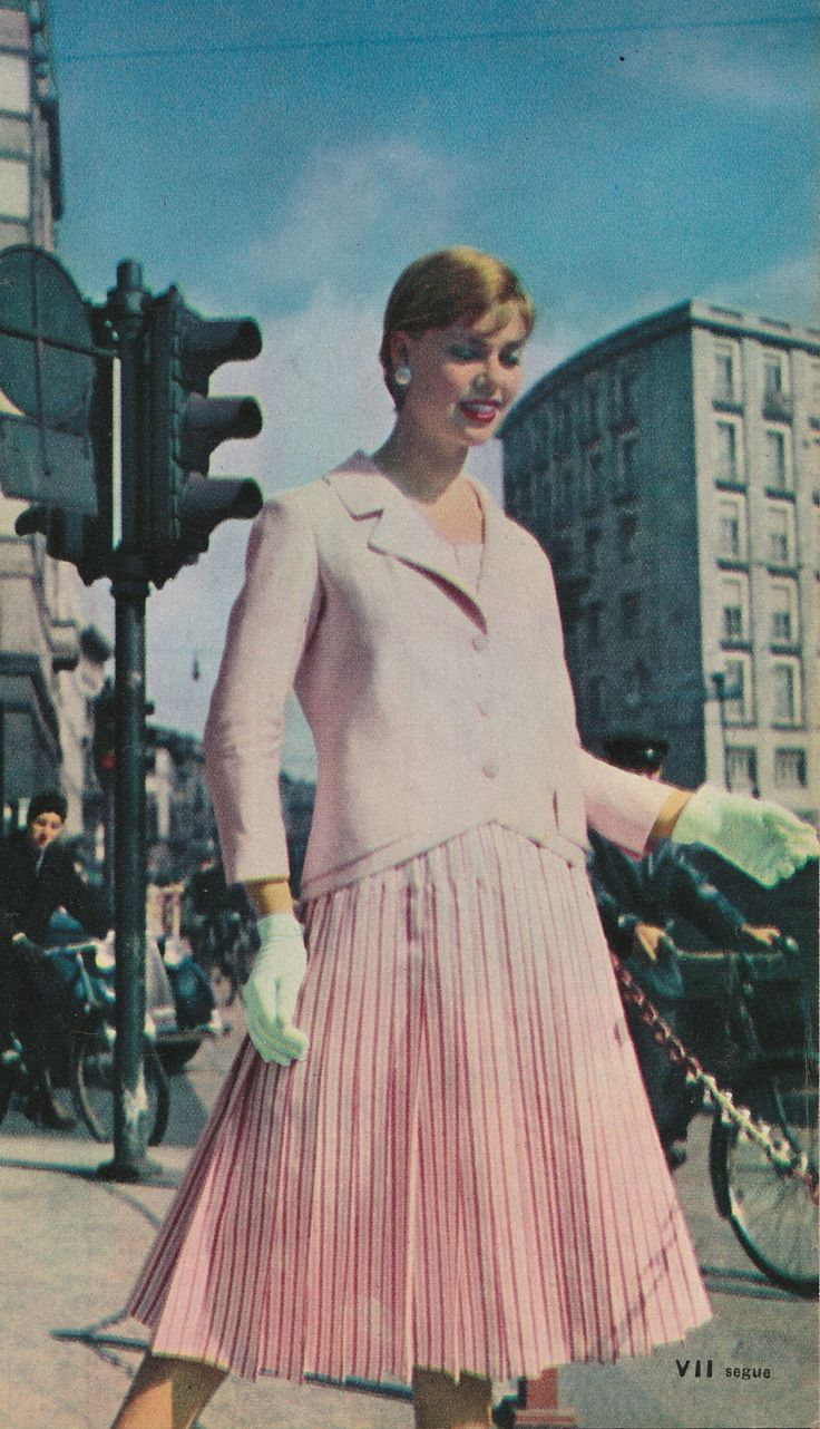 Jole Veneziani 1955 - creò per prima una linea di pronto moda per il mercato americano.