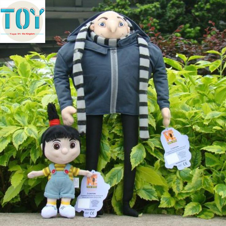 Find More Movies & TV Information about New 2 PCS Minions Agne Despicable Me with Villain Gru Papa Plush Doll Cartoon Peluche Kids Toys Baby Dolls Anime Brinquedos,High Quality toy bow and arrow set,China toy chick Suppliers, Cheap doll toy sex from Toys in the Kingdom on Aliexpress.com