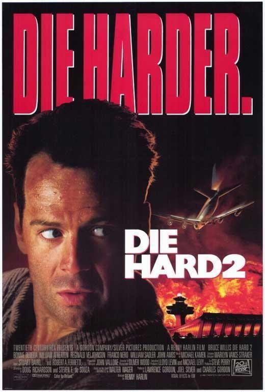 Die Hard 2 Die Harder Movie Poster 27 X 40 Bruce Willis A Licensed Hard Movie Action Movies Movie Posters