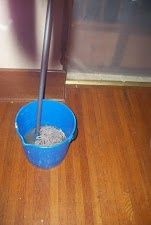 Are you tired of wasting money on products to mop your hardwood floors? If so, then you'll want to try this homemade hardwood floor mopping solution.