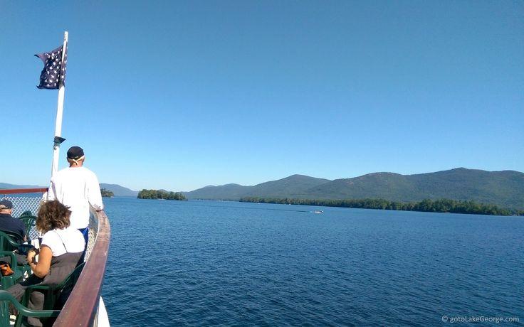Cruising on Lake George on a beautiful summer day!