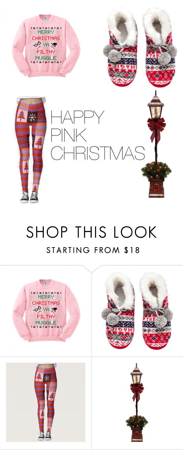 HAPPY  PINK CHRISTMAS by diamondexpress on Polyvore
