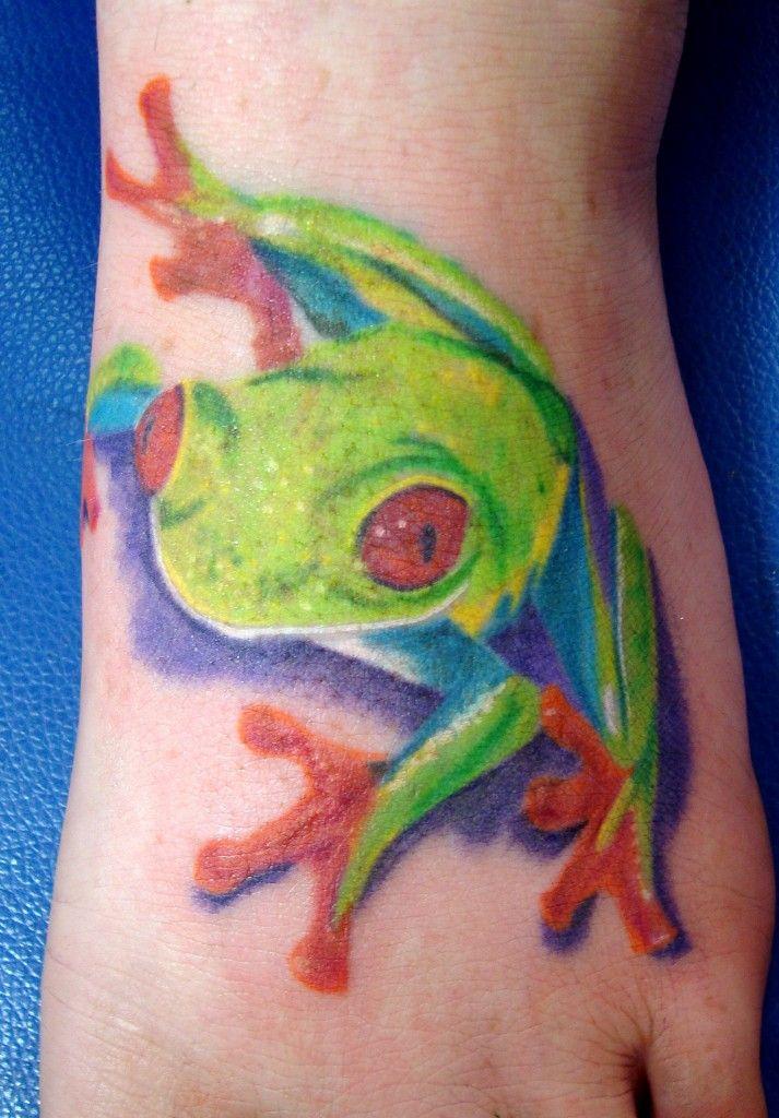 hd tattoos.com 3d tree frog tattoo design meaning | Beautiful Tattoo ...