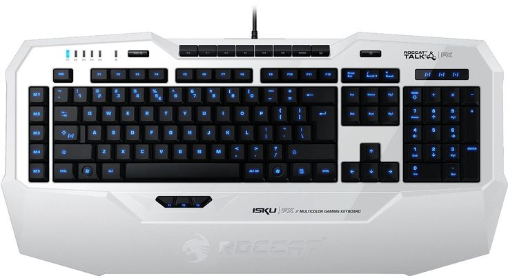 Roccat Isku FX Multicolor Gaming Tastatur weiß: Amazon.de: Computer & Zubehör