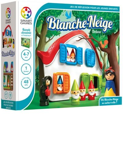Blanche-Neige Deluxe | SmartGames - Jeux de réflexion pour un joueur