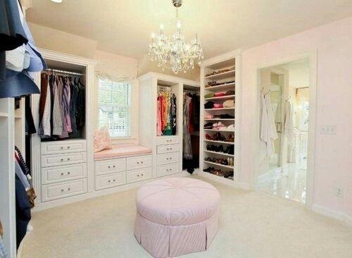 Hermosos y lujosos diseños de walkin closets. #YoLoQuiero