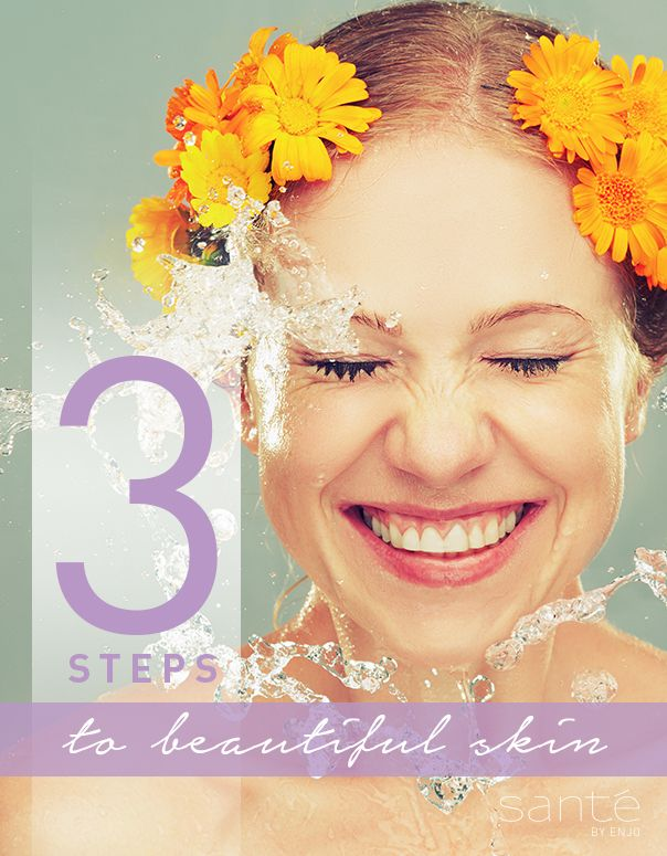 Beautiful skin in three steps!
