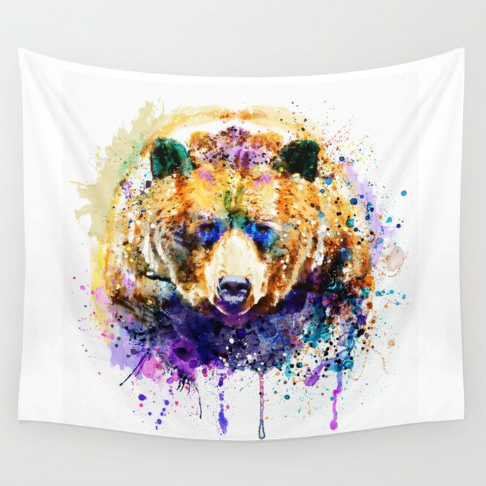Bear Tapestry Colors on a budget