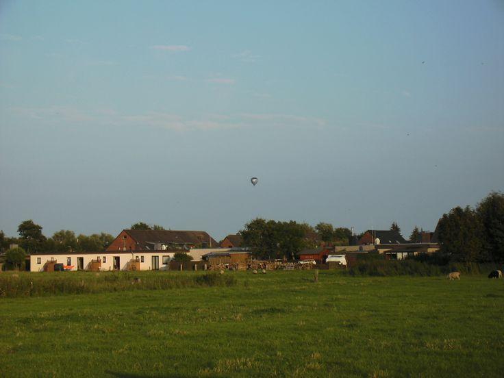 Teil des Dorfes