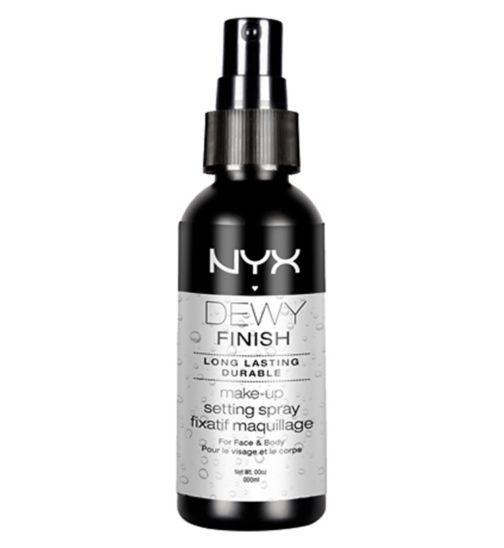 NYX Make up setting spray - dewy finishlong lasting - Boots