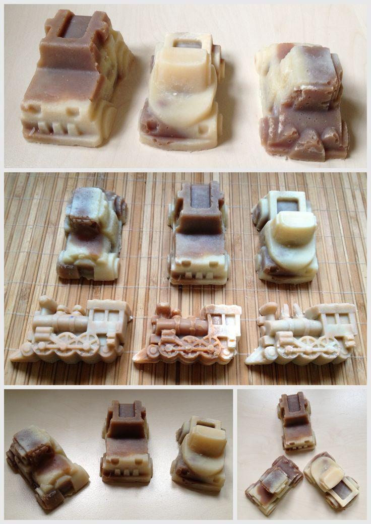 Jármű szappan gyerekeknek sok kakaóvajjal és shea vajjal