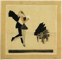 HANNAH  HOCH       DIE  SÄNGERIN  /  THE SINGER        1926         #HannahHöch…